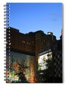 Terminal Tower And Sherwin Williams Building In Cleveland, Ohio, Usa Spiral Notebook