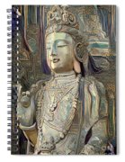 Colorful Indian Diety Figure Spiral Notebook