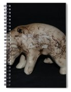 4 Corners Bear Spiral Notebook