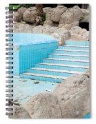 Derelict Swimming Pool Spiral Notebook