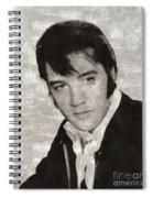 Elvis Presley, Legend  Spiral Notebook