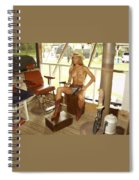 Everglades Cowgirl Spiral Notebook