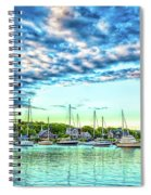 Falmouth Harbor Cape Cod Spiral Notebook