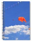 Flying Kite Festival  Spiral Notebook