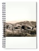 Ghost Town Spiral Notebook