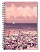 Gordon Beach, Tel Aviv, Israel Spiral Notebook
