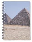 Great Pyramids Of Giza - Egypt Spiral Notebook