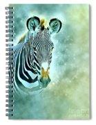 Grevys Zebra, Samburu, Kenya Spiral Notebook