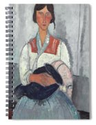 Gypsy Woman With Baby Spiral Notebook
