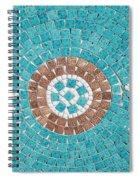 Hans Mosaic Spiral Notebook