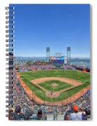 Home Of The San Francisco Giants Spiral Notebook