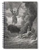 Illustration By Gustave Dore 1832-1883 Spiral Notebook