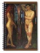img693 Edvard Munch Spiral Notebook