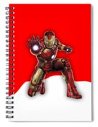 Iron Man Collection Spiral Notebook