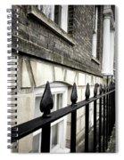Iron Railings Detail  Spiral Notebook