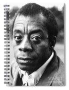 James Baldwin Spiral Notebook