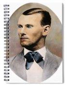 Jesse James, 1847-1882 Spiral Notebook