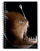 Johnsons Abyssal Seadevil Spiral Notebook