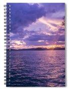 Krabi Sunset Spiral Notebook