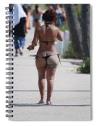 L W Thong Spiral Notebook