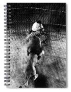Lion Tamer, 1930s Spiral Notebook