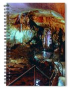 Marble Cave Crimea Spiral Notebook