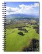 Maui Aerial Spiral Notebook