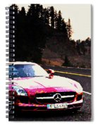 Mercedes Spiral Notebook