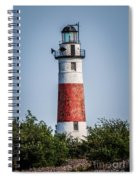 Middle Island Lighthouse Spiral Notebook