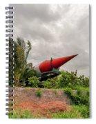 Military Weapons, Ballistic, Anti-aircraft, Medium-range Missile 5 Spiral Notebook