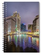 Milwaukee Wisconcin City And Street Scenes Spiral Notebook