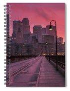 Minneapolis Skyline Spiral Notebook
