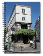 Montmarte Paris Spiral Notebook