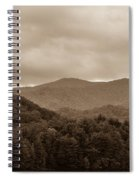 Nature Landscapes Around Lake Santeetlah North Carolina Spiral Notebook