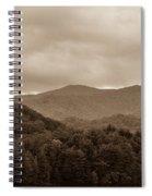 Nature Landscapes Around Lake Santeetlah North Carolina Spiral Notebook