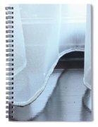 Net Curtain Spiral Notebook
