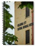 Okc Memorial Xv Spiral Notebook