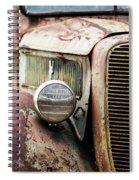 Old Farm Ford - Pov 1 Spiral Notebook