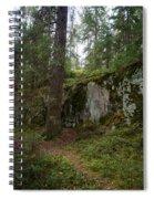 Old Forest In Kauppi Tampere Spiral Notebook