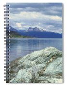 Panoramic View Of Ushuaia, Tierra Del Spiral Notebook