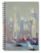 Pennell, New York City.  Spiral Notebook