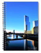 Philly Over The Schuylkill Spiral Notebook