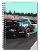 Power And Motors Spiral Notebook