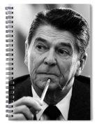President Ronald Reagan - Three Spiral Notebook