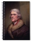 President Thomas Jefferson Spiral Notebook