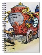 Presidential Campaign 1904 Spiral Notebook