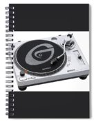 Record Spiral Notebook