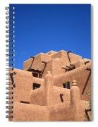 Santa Fe - Adobe Building Spiral Notebook