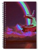 Sci Fi Spiral Notebook
