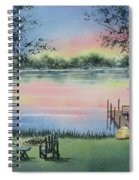 4 Seasons-spring Spiral Notebook